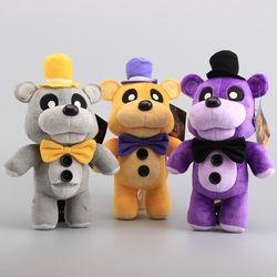 3 Colors FNAF Five Nights At Freddy Fazbaer Teddy Doll Plush Toys Stuffed Animals Xmas Gift 12