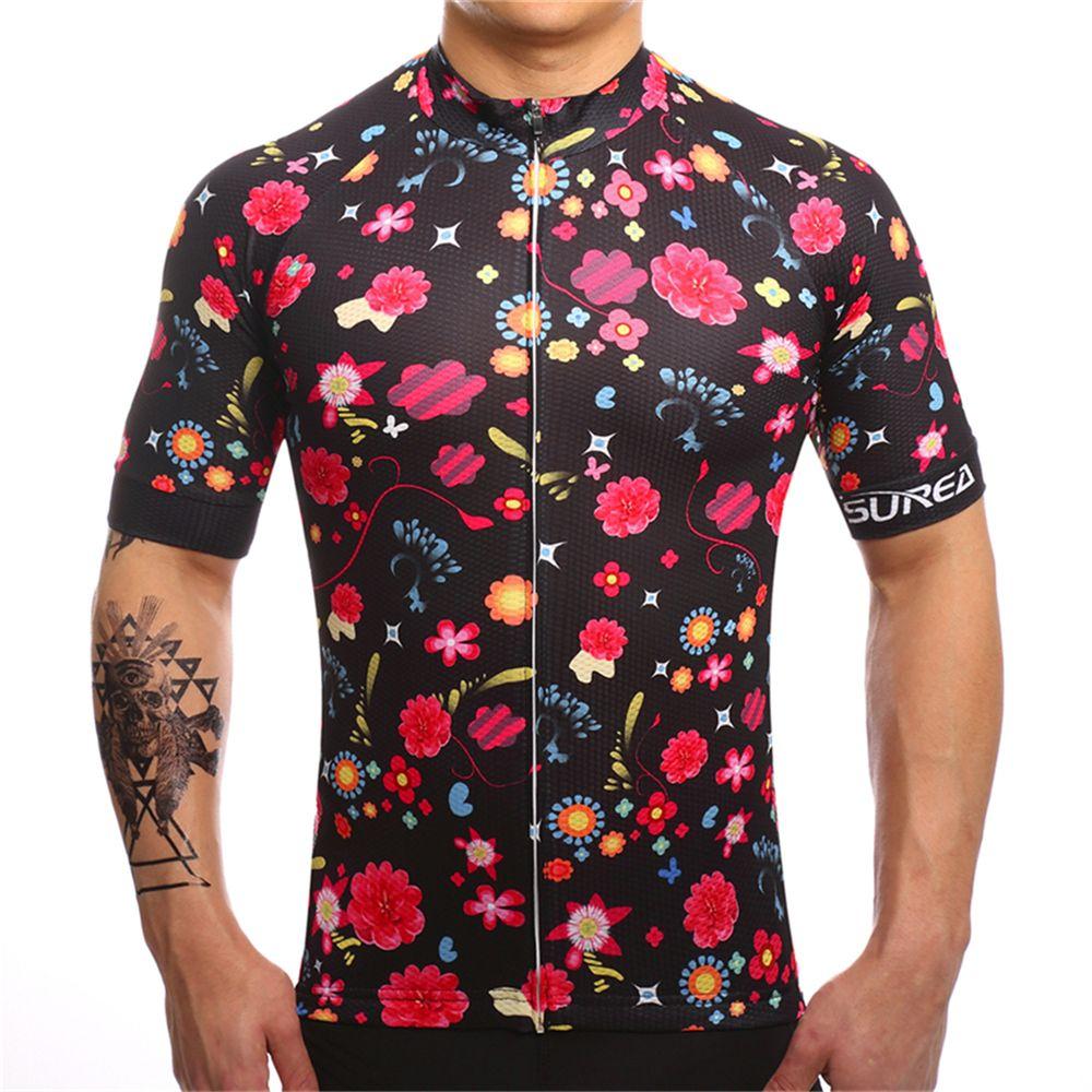 FUALRNY 2018 À Séchage Rapide à Vélo Jersey D'été Hommes Vtt Vélo Court Vêtements Ropa Bicicleta Maillot Ciclismo Vélo Vêtements # DX-15