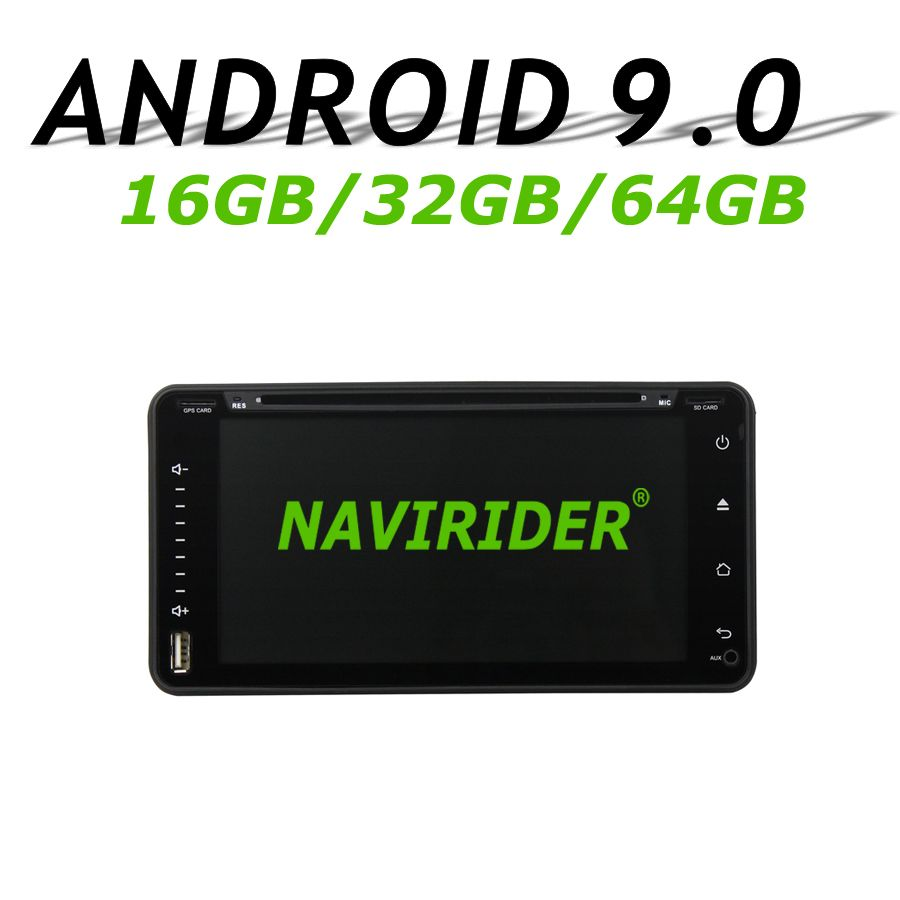 Hohe konfiguration Octa Core Android 9.0 Auto GPS Multimedia Für TOYOTA Rav4 Corolla Vios Hilux Land Cruiser Fortuner Prado 06- 10