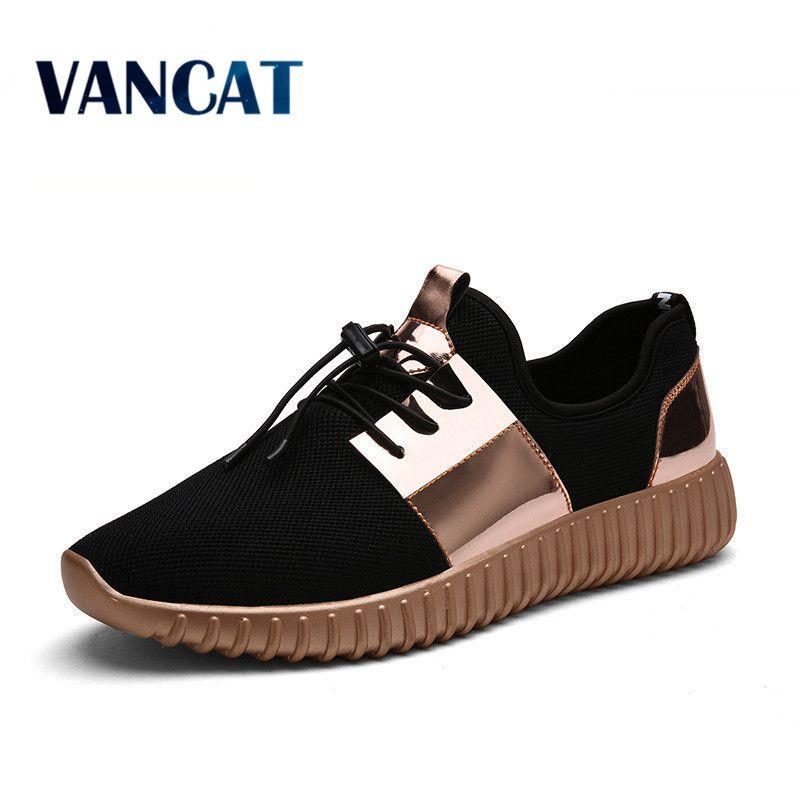 2017 New Summer Breathable Shoes Men Flat shoes Autumn Fashion Men Shoes <font><b>Couple</b></font> Casual Shoes Plus size 35-46