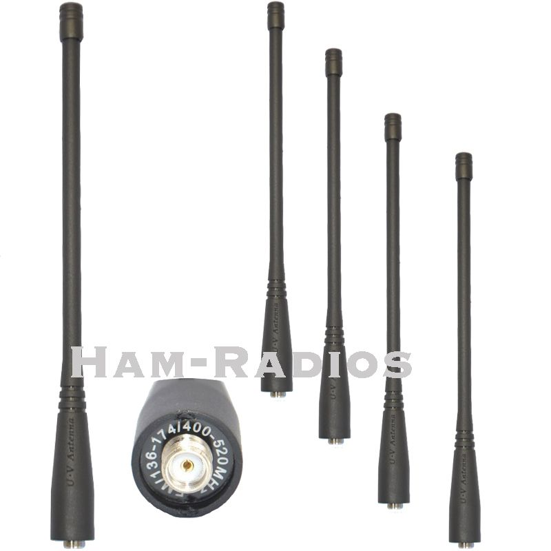 5PCS Original BAOFENG UV-5R Dual Band 136-174&400-520MHz walkie talkie ANTENNA SMA-F For BAOFENG UV-5R 5RA 5RB 5RC 5RD 5RE