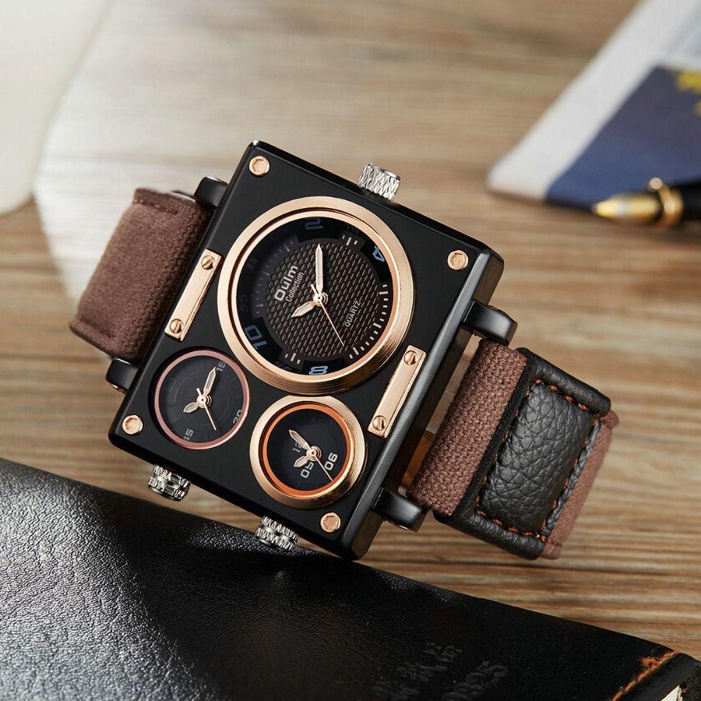 OULM meilleure vente homme mode montre militaire Top marque de luxe au détail Vip livraison directe en gros montre otan bracelet hommes montre-bracelet