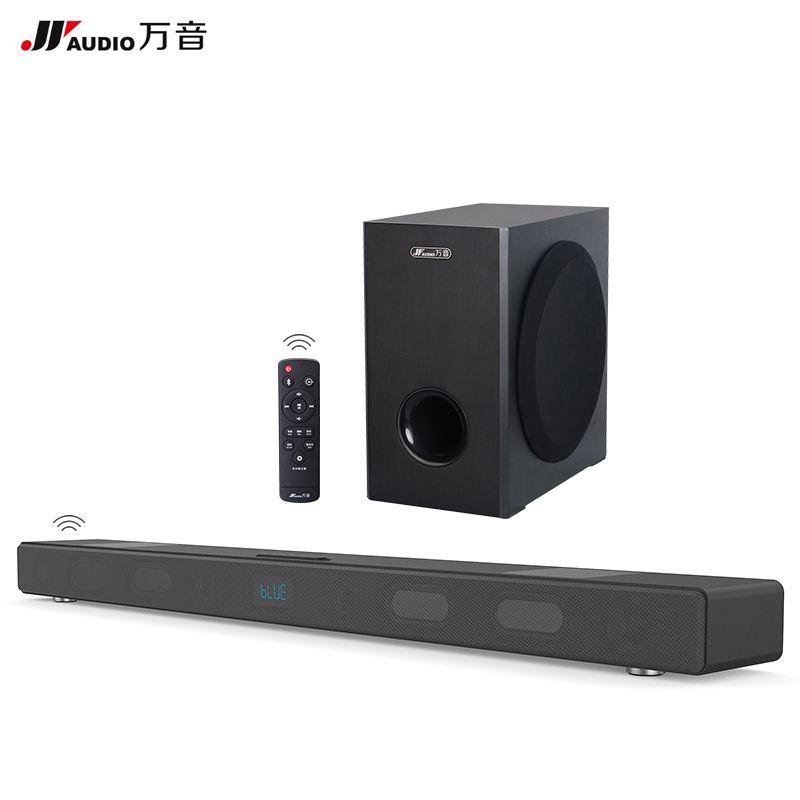 60 Watt Drahtlose TV Soundbar mit Subwoofer Bluetooth Stereo Lautsprecher 5,1 Heimkino 3D KTV Soundbar Für Xiaomi Projektor optische