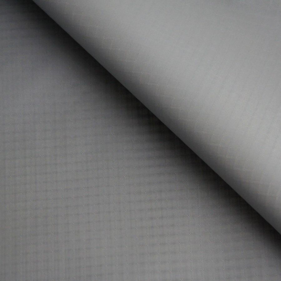 5 Yards Lightweight Waterproof Fabric Grey Color 40D PU Coated Ripstop Nylon Fabric For Kite Tent Making
