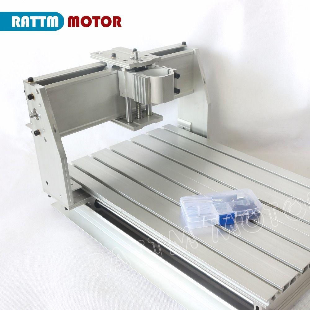 EU Lieferung! 3040 CNC router fräsen maschine mechanische kit CNC aluminium legierung Rahmen ball schraube für DIY benutzer von RATTM MOTOR
