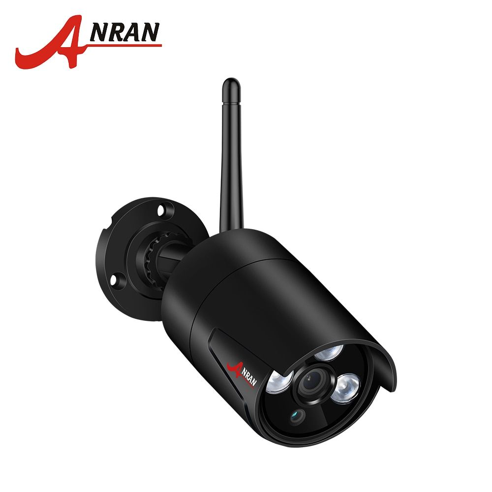 ANRAN Security Camera HD Waterproof Video Surveillance Camera Wireless Smart WiFi CCTV Camera 2.0/1.3MP HD Wireless IP Camera