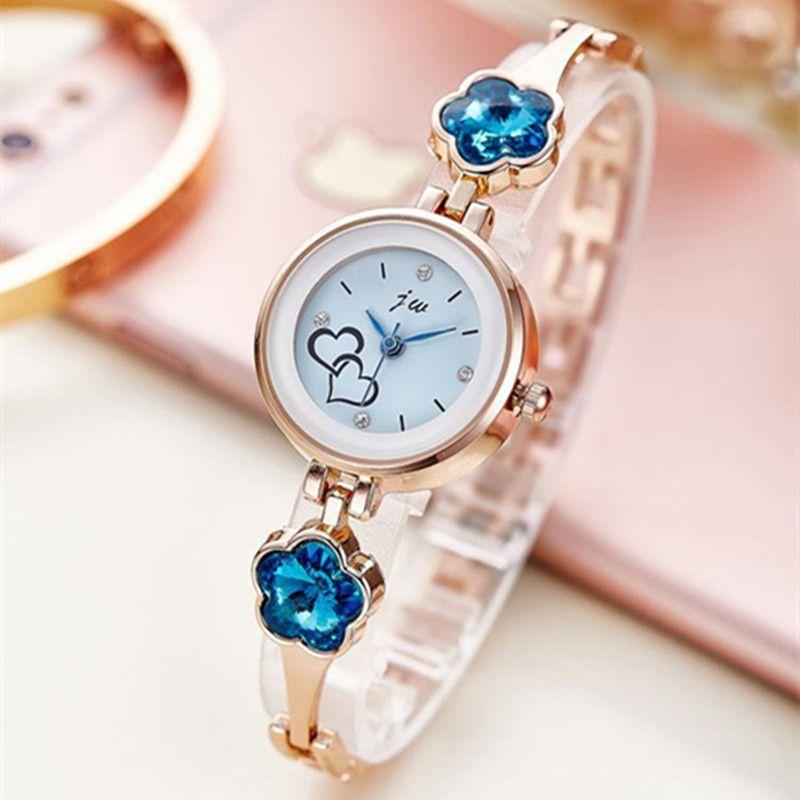 Neue Mode Strass Uhren Frauen Luxus Edelstahl Quarzuhr Frauen Kleid Armband Uhren Damen Uhr uhren AC073