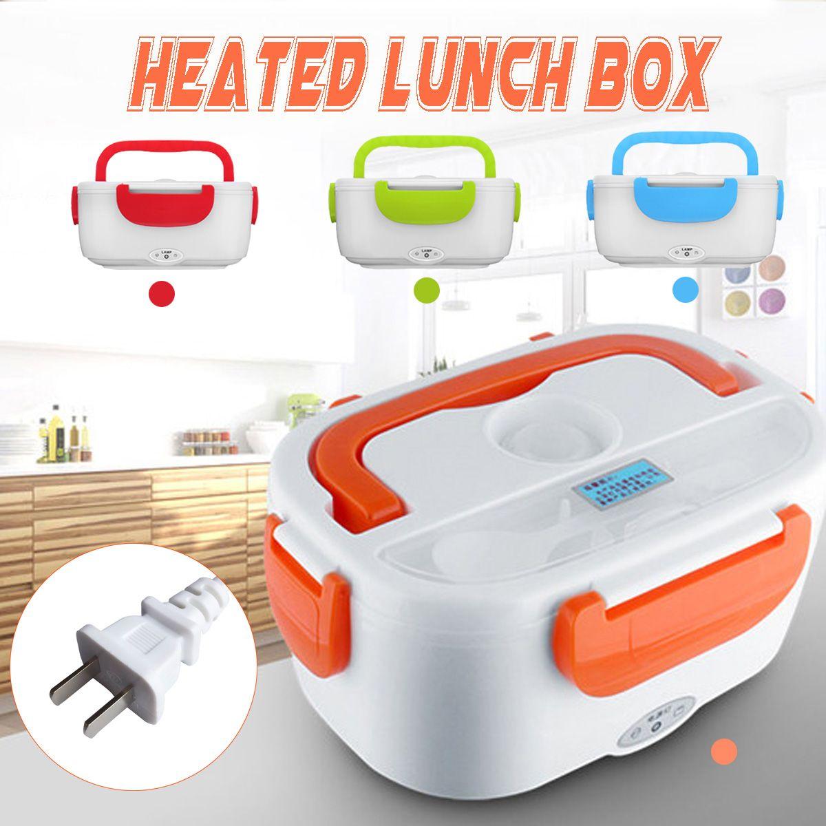 Boîte À Lunch de Chauffage électrique 110 V Portable Multi-Fonctionnelle de Qualité Alimentaire Contenant Alimentaire Réchaud Camping Voyager Chauffe-