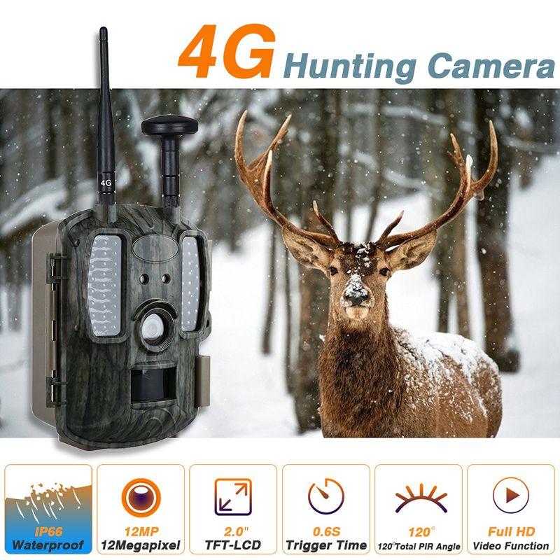 Skatolly Marke 4G netzwerk Jagd Spiel Kameras mit GPS 4G LTE falle Kameras 12MP GPS Wilden Kameras 4G Netzwerk Freies verschiffen!