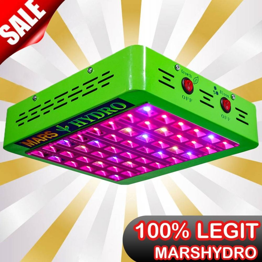Mars Hydro Reflector240W LED Grow Light Full Spectrum Veg/Bloom Switchable Indoor Plants growing phytolamp No Stock in Russia