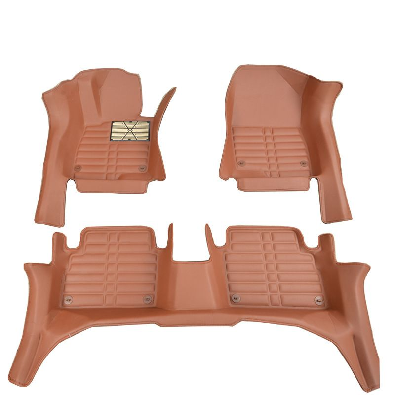 Myfmat custom foot leather car floor mats for Cadillac CTS CT6 SRX Escalade SLS seville luxury sedan ATSL XT5 ATS CT6 PLUG-IN