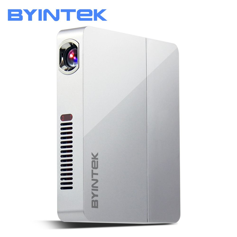 BYINTEK UFO R9 Home Theater Business Office Video Micro Portable DLP Mini LED Projector Proyector Support Full HD 1080P