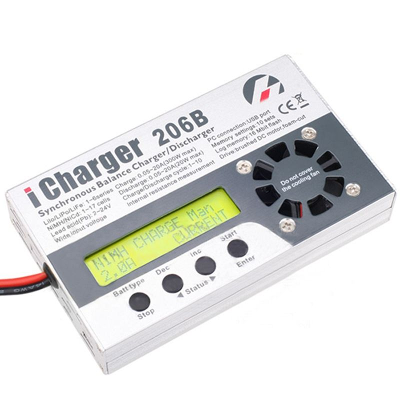 New Arrival iCharger 206B 20A 300W 8S Battery Balance Charger Discharger