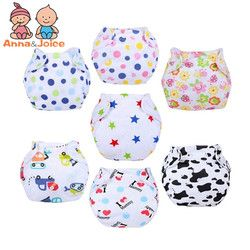 10pcs/lot mix New Baby Diapers/Children Cloth Diaper/Reusable Nappies/Adjustable Diaper Cover/Washable +Diapers suit 8-15kg