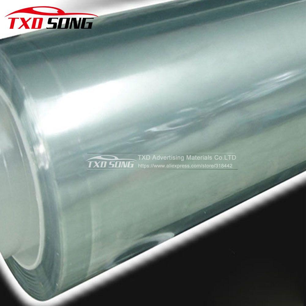 Super qualität 3 Schichten Transparent Auto Anti-Scratch Farbe Schutz Film Für Auto autolack schutz film Größe: 1,52*30 mt/Rolle
