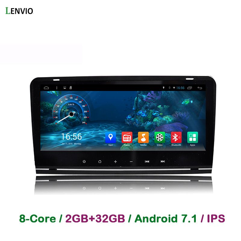 Lenvio RAM 2 gb + 32 gb Octa Core Android 7.1 AUTO DVD GPS Navigation-Player Für Audi A3 S3 2003 2004 2005 2006-2011 Radio DAB BT IPS
