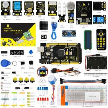 KS0079 Keyestudio Super Starter Kit/Learning Kit  For Arduino Education Project With Mega2560R3/+PDF(online)+32Projets &STEM