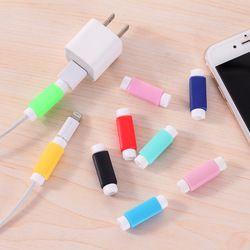 Kabelschutz Datenleitung Farben Kabel Protector Schutzhülle Lange Größe Kabelaufwicklung Abdeckung Für iPhone Usb-ladekabel