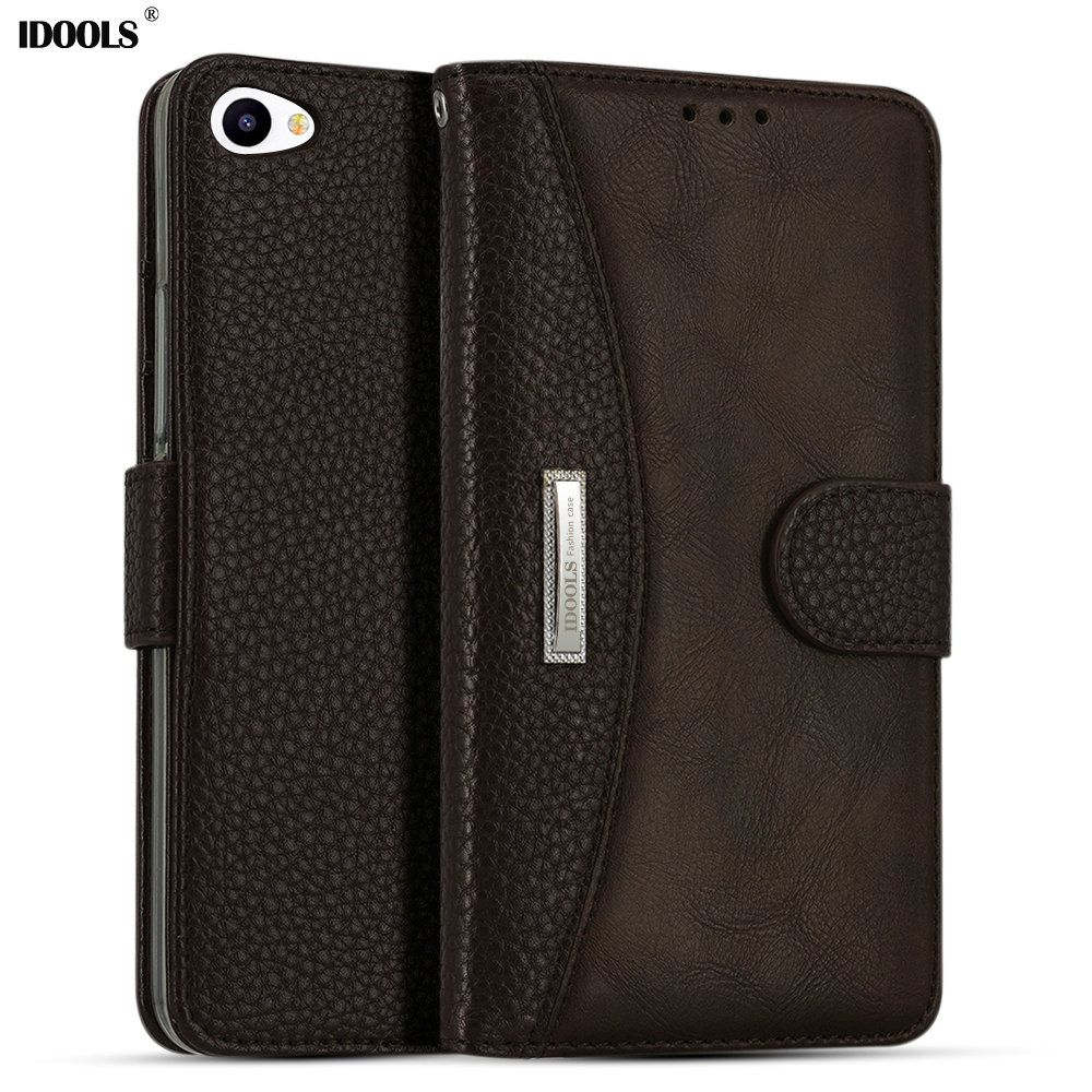 IDOOLS für Meizu U20 Fall Luxury Pu-leder 5,5 Zoll Magnetische Schmutzabweisend Brieftasche Abdeckung Telefon-beutel-kästen für Meizu Meilan U20