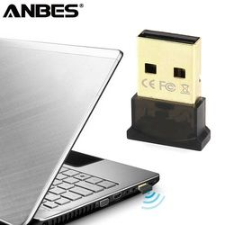 ANBES Wireless USB Bluetooth Adapter V4.0 Bluetooth Dongle Music Receiver Adaptador Bluetooth Transmitter for Computer PC Laptop