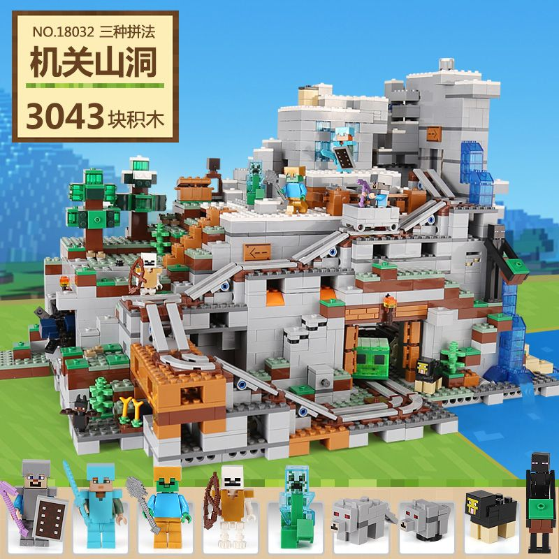 Lepin My World Series Best Educational Building Blocks For Toddlers Iron Golem Clever Toys Compatible LegoINGlys Minecrafter