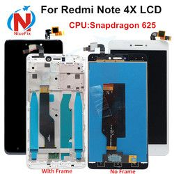 Xiaomi redmi note 4X Note 4 Global Version LCD screen display touch digitizer with frame Snapdragon 625 xiaomi redmi Note 4x Lcd