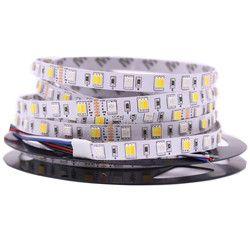5M LED Strip Light RGB CCT RGBW 5050 SMD Led Tape Non waterproof Led Stripe Bar Light String Holiday Decoration Lights 12V 24V