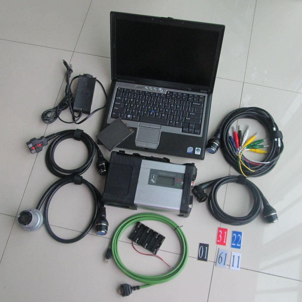 2019 MB Star C5 SD Verbinden sd c5 mit Laptop D630 (4g) HDD SSD Diagnose Software 2018,12 v DAS DTS für Mb Star C5 Autos & Lkw