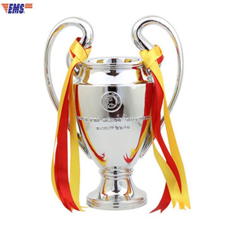 1:1 große Größe 77 CM Champions League Trophy Europäischen Tasse Fußball Fans Souvenirs Trophy Home Sammlerstücke Desktop Dekoration X1334