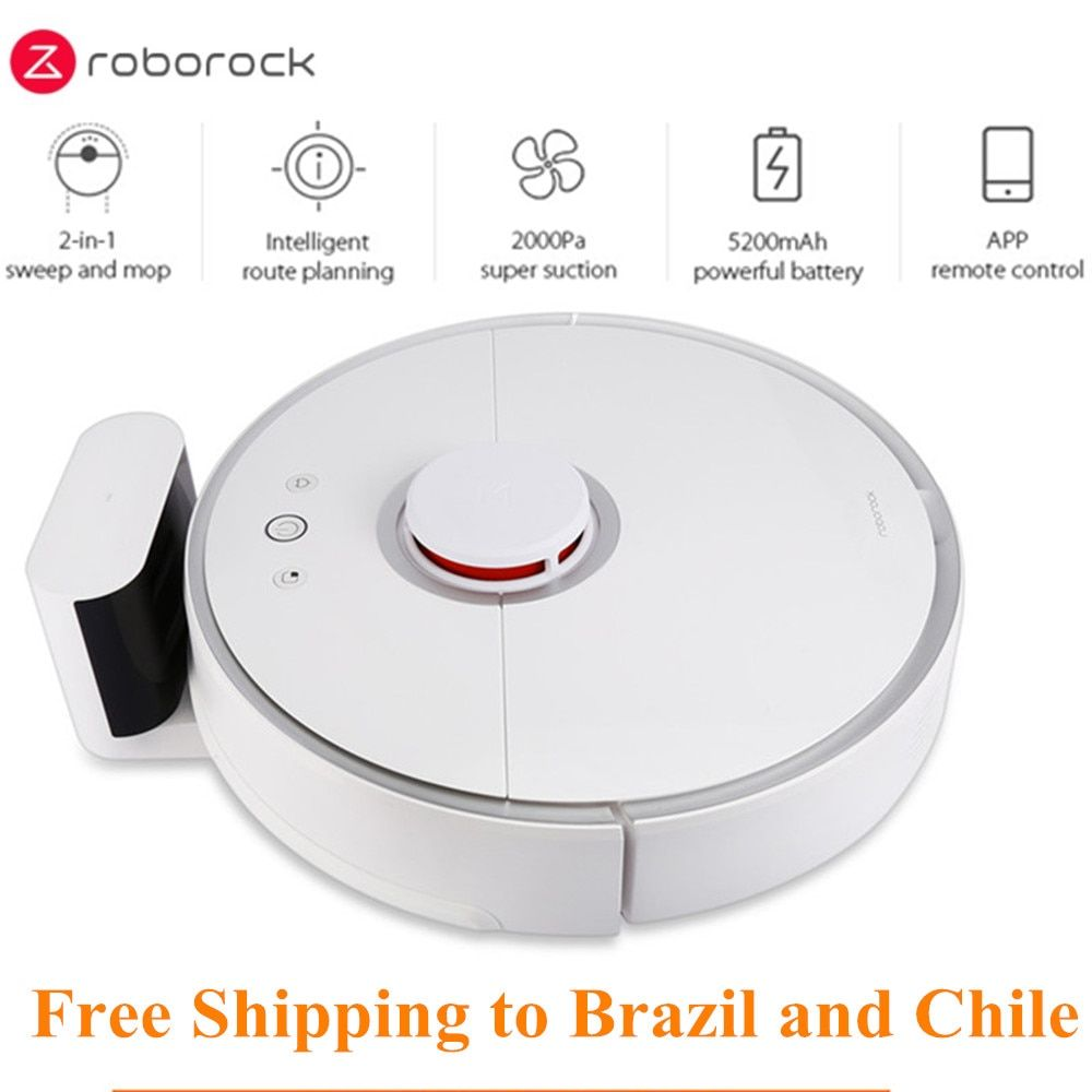 Roborock S50 Xiao mi mi Smart Roboter-staubsauger 2 für Home Automatische Kehren Staub Sterilisieren APP Smart Geplant Waschen wischen