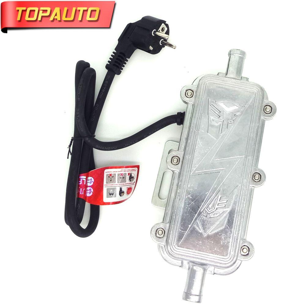 TopAuto Sale 220V 3000W Car Engine Heater Auto Preheater Not Webasto Eberspacher Air Parking Heater Car Boat Truck Heating EU