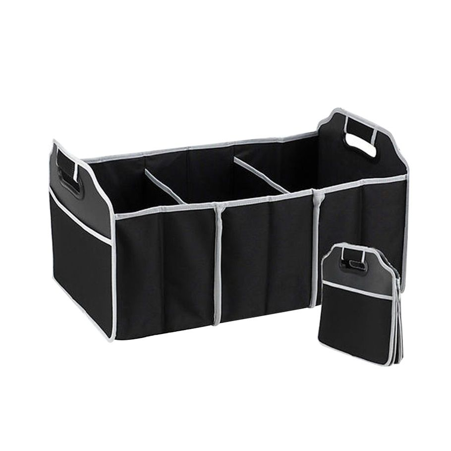CHIZIYO Black Non-Woven Folding Storage Bag Car Organizer Car Trunk Storage Package Automobile Stowing Tidying Accessories