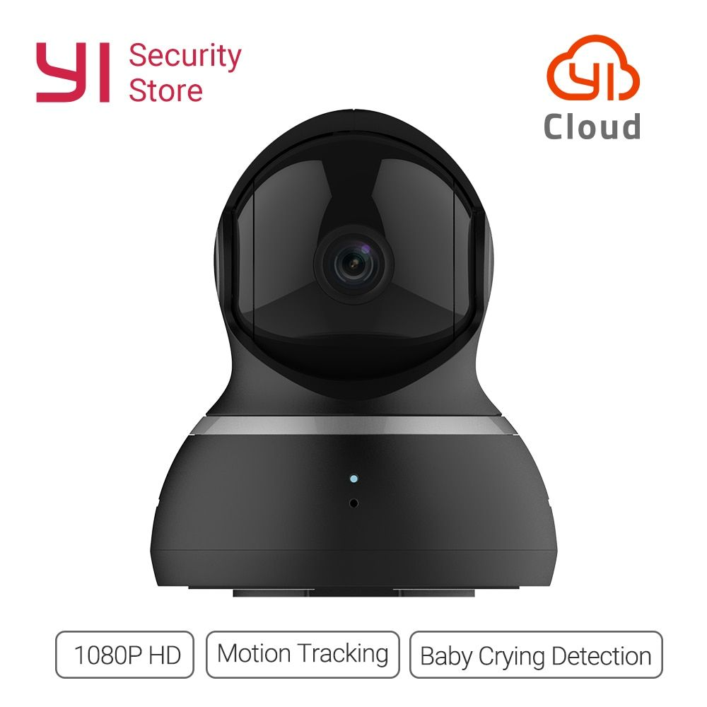 YI Dome Camera 1080P Night Vision Wireless IP Home Security Surveillance System 360 Degree Coverage Pan/Tilt/Zoom Global Version