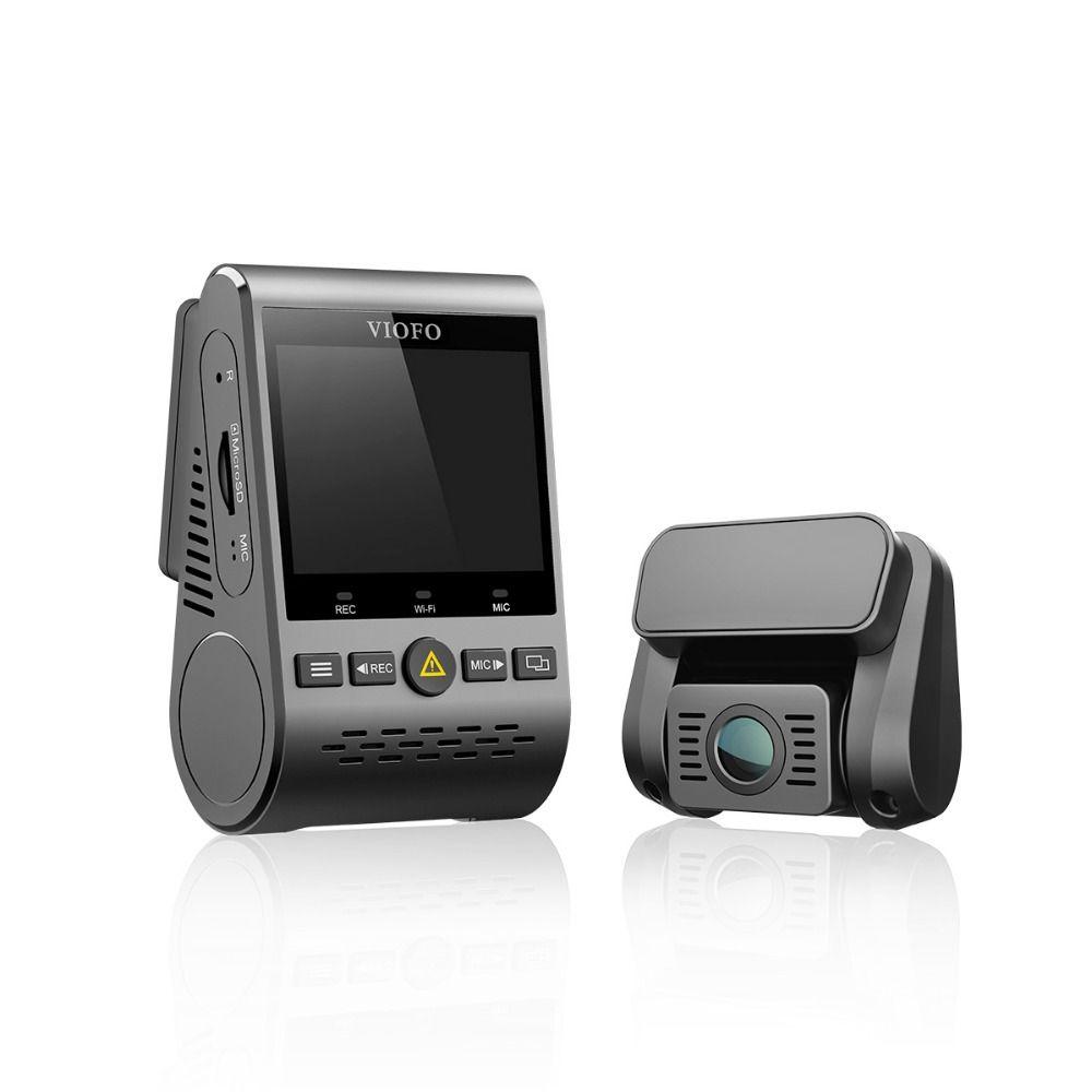 VIOFO A129 Duo Doppel Kanal 5 ghz Wi-Fi Full HD Dash Kamera DashCam Sensor IMX291 HD Dual 1080 p Auto DVR Optional GPS
