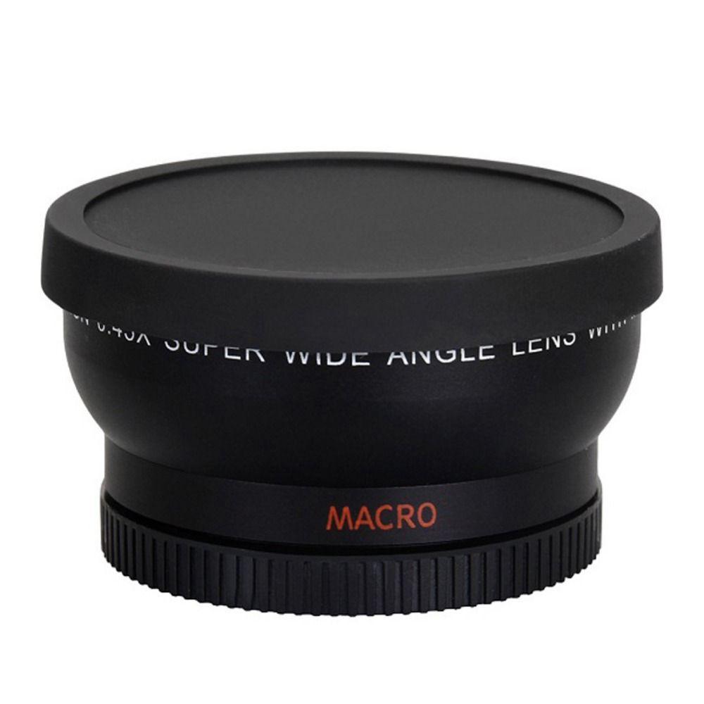 58mm 0.45X <font><b>Wide</b></font> Angle Lens for Canon EOS 1000D 1100D 500D Rebel T1i T2i T3i L3EF