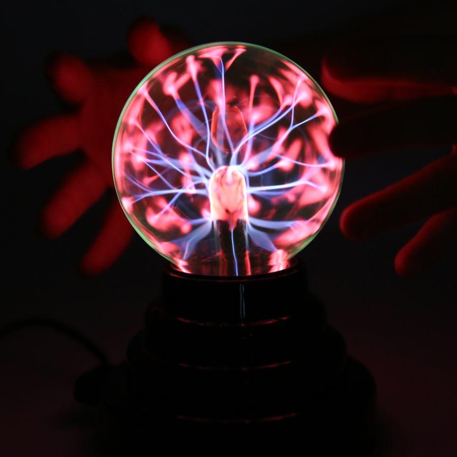 Magic USB Plasma Ball Antistress Tricks Gadget Fantasy Soecery Ball Toys For Children Halloween Schocker Funny Gift