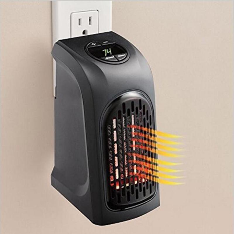Mini Électrique Pratique Plug-In Ventilateur Chauffe-Portable mural Main Chaude Hôtel Cuisine Salle De Bains EU UK US Plug Électrique Radiateur