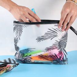 PVC Tas Perlengkapan Mandi Fashion Wanita Jelas Kosmetik Tas Travel Organizer Perlu Kasus Kecantikan Tas Makeup Sabun Kotak