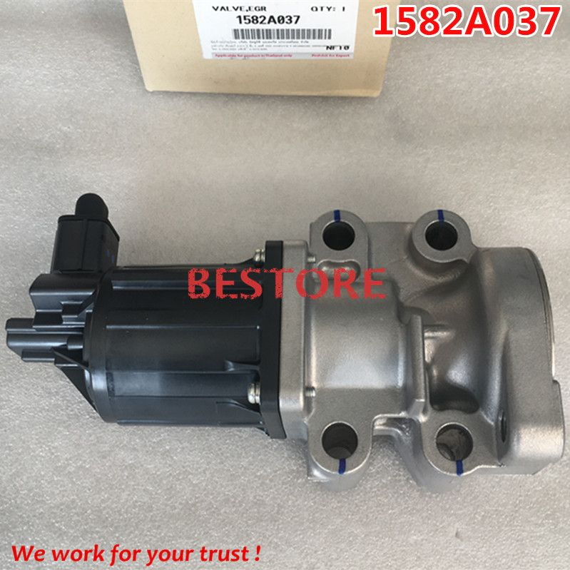 Genuine and new Exhaust Gas Recirculation Valve,EGR Valve For Pickup Triton L200\ 1582A037 K5T70080ZT