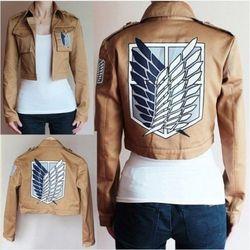 Атака на титановая куртка плащ Shingeki no Kyojin куртка Легион костюм для косплея пиджак пальто любой размер высокое качество Eren новый NEW