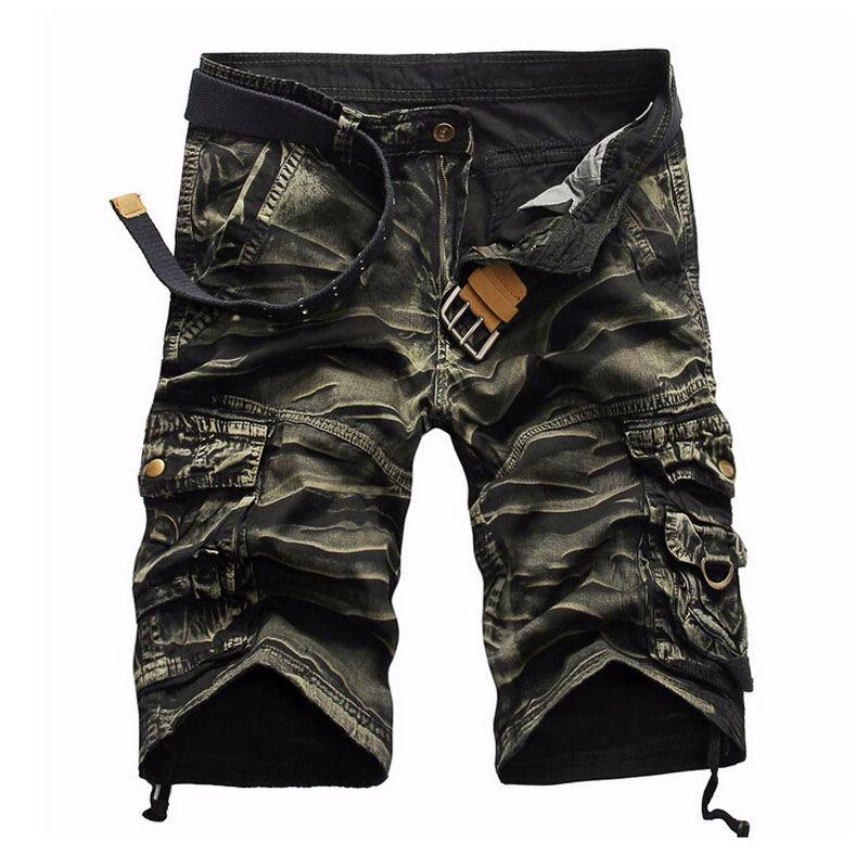 Shorts Man 2018 Brand Fashion Mens Bermuda Short Men <font><b>Homme</b></font> Cargo Shorts