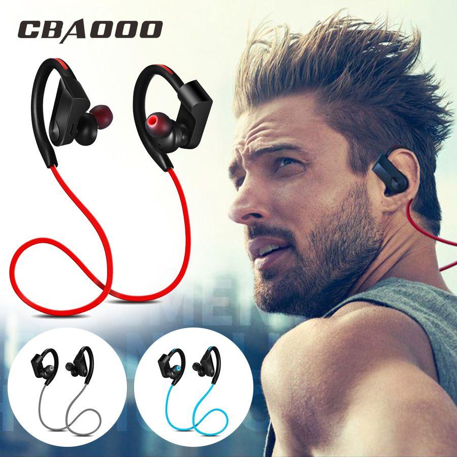 CBAOOO Sport Bluetooth Casque Sans Fil Écouteurs Bluetooth Casque Étanche réduction du bruit avec Microphone pour android ios