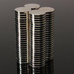 50 pcs Forte Ronde Dia. 8mm x 1.5mm Rare Earth Néodyme Aimant Art Artisanat Réfrigérateur HH3