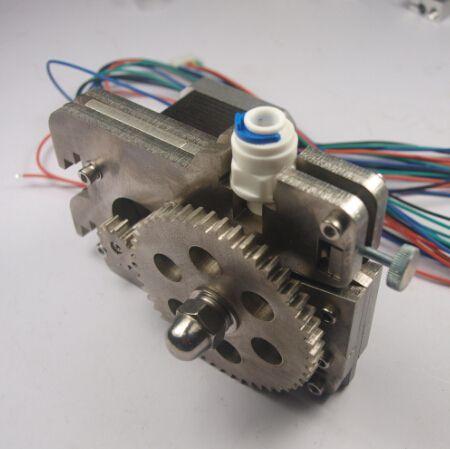 Horizon Elephant ultimaker Original extruder kit metal/bowden extruder set/k for DIY ultimaker 3D printer with stepper motor for