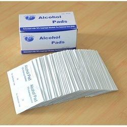100 pcs Jetable Médical Stérilisation Désinfection à L'alcool Coton Pièce D'urgence Stérilisation Propre Coton Feuille de Premiers soins
