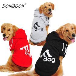Donbook gran tamaño ropa para perros grandes Golden Retriever invierno con capucha deportiva 2XL-9XL