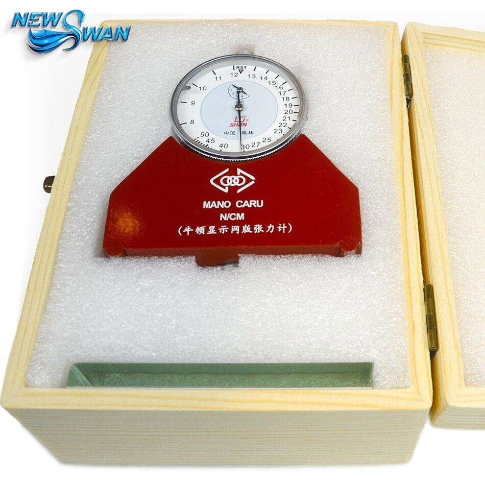 De soie Écran Tensiomètre Jauge De Mesure Maille Tensiomètre Newton Pression Tensiomètre 8-50N