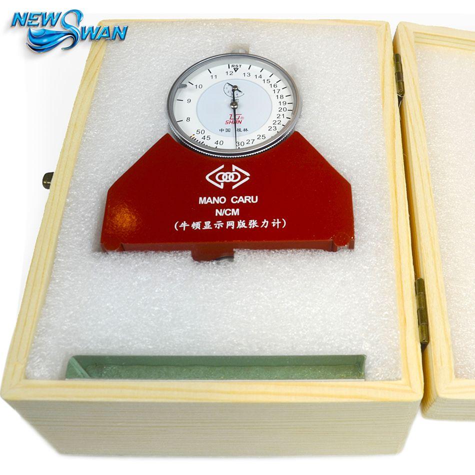 Silk Screen Tension Meter Measuring Gauge Mesh Tension Meter Newton Pressure Tensometer 8-50N