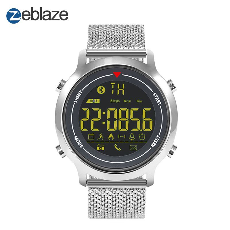 New!Zeblaze VIBE Hiking Sports Smart Watch 5ATM Waterproof Smartwatch 365 Days Stand-by Time Wearable Devices For Android iOS