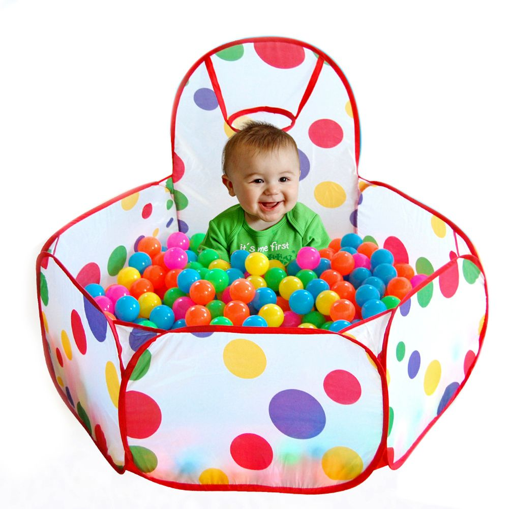 New Folding Kids Playpen Ocean Ball Game Pit Pool Portable Children Game Play Tent In/Outdoor Playing House Pool Pit Accessories